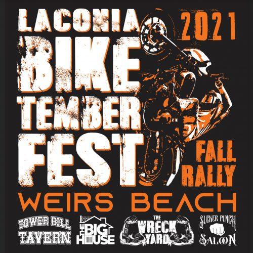 Laconia Biketemberfest 2021 Flyer